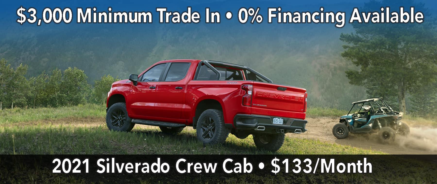 January Silverado Lease Offer $133/mo*