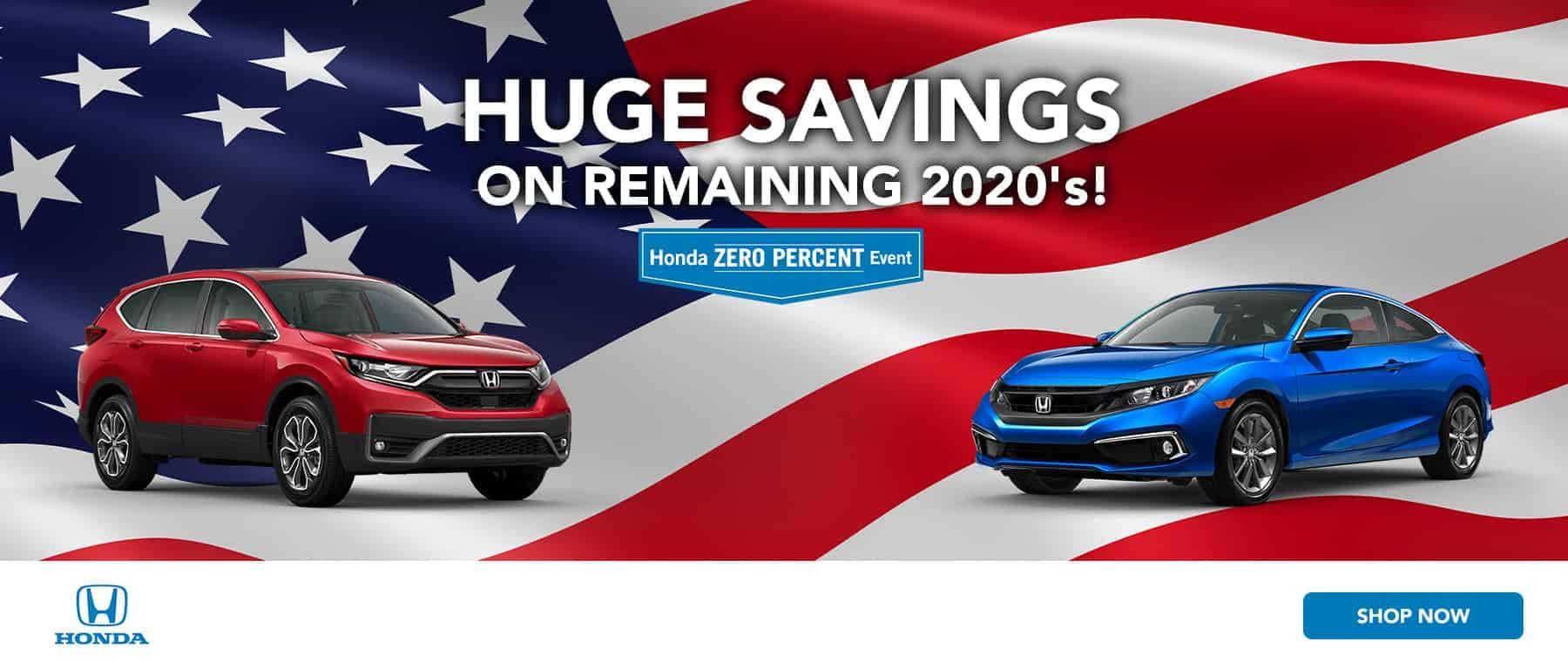 Huge Savings on Remaining 2020's