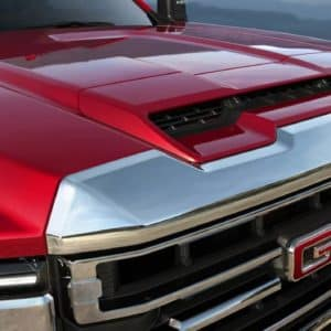 2020 GMC Sierra HD hood