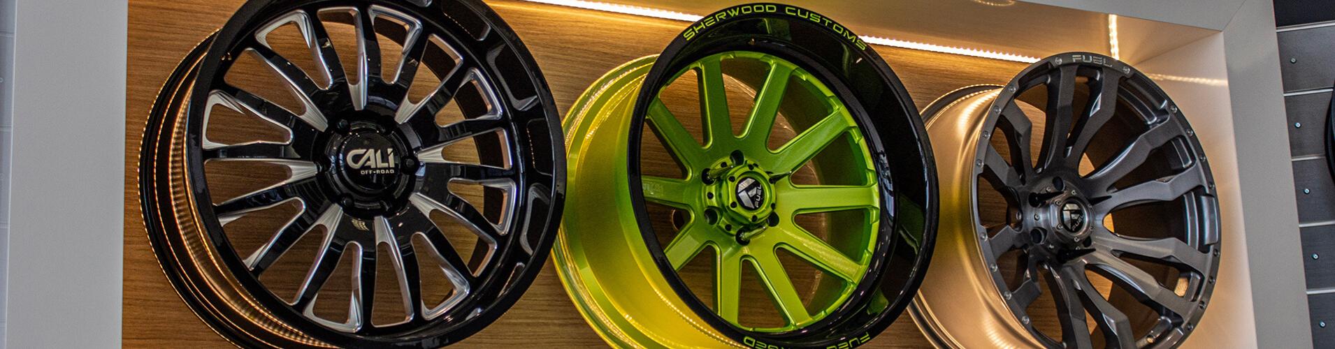 Sherwood Customs Wheel Wall