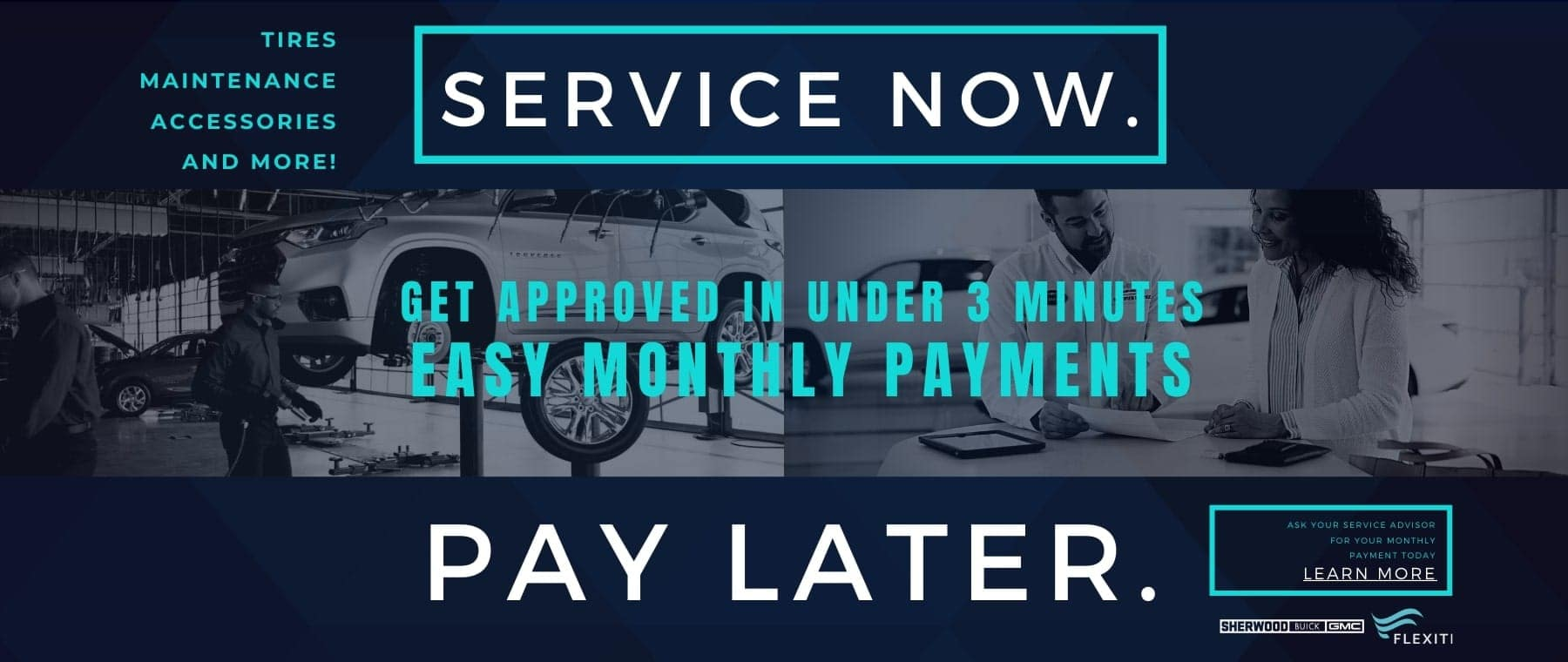 Service Now Pay Later
