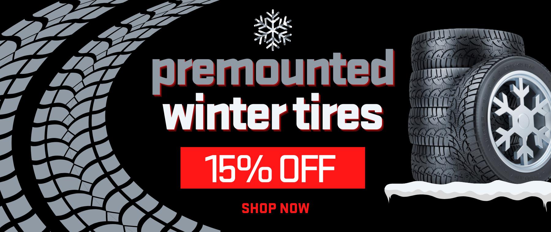 Premounted Winter Tires (3)