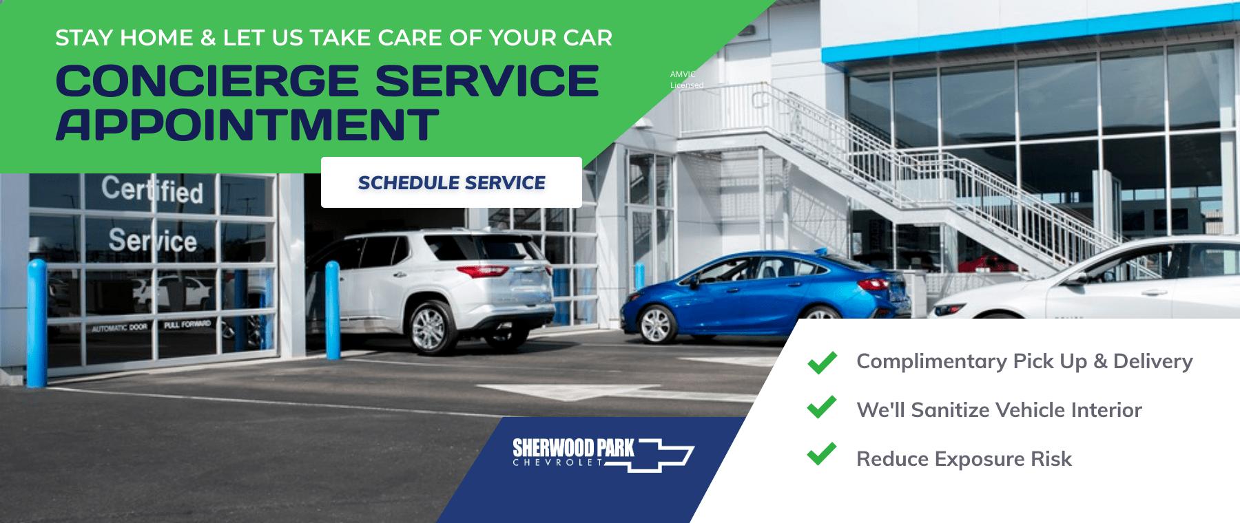 Sherwood Park Chevrolet - Concierge Service- appointment