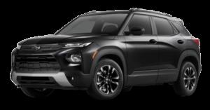 black Chevrolet Trailblazer