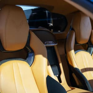 corvette interior