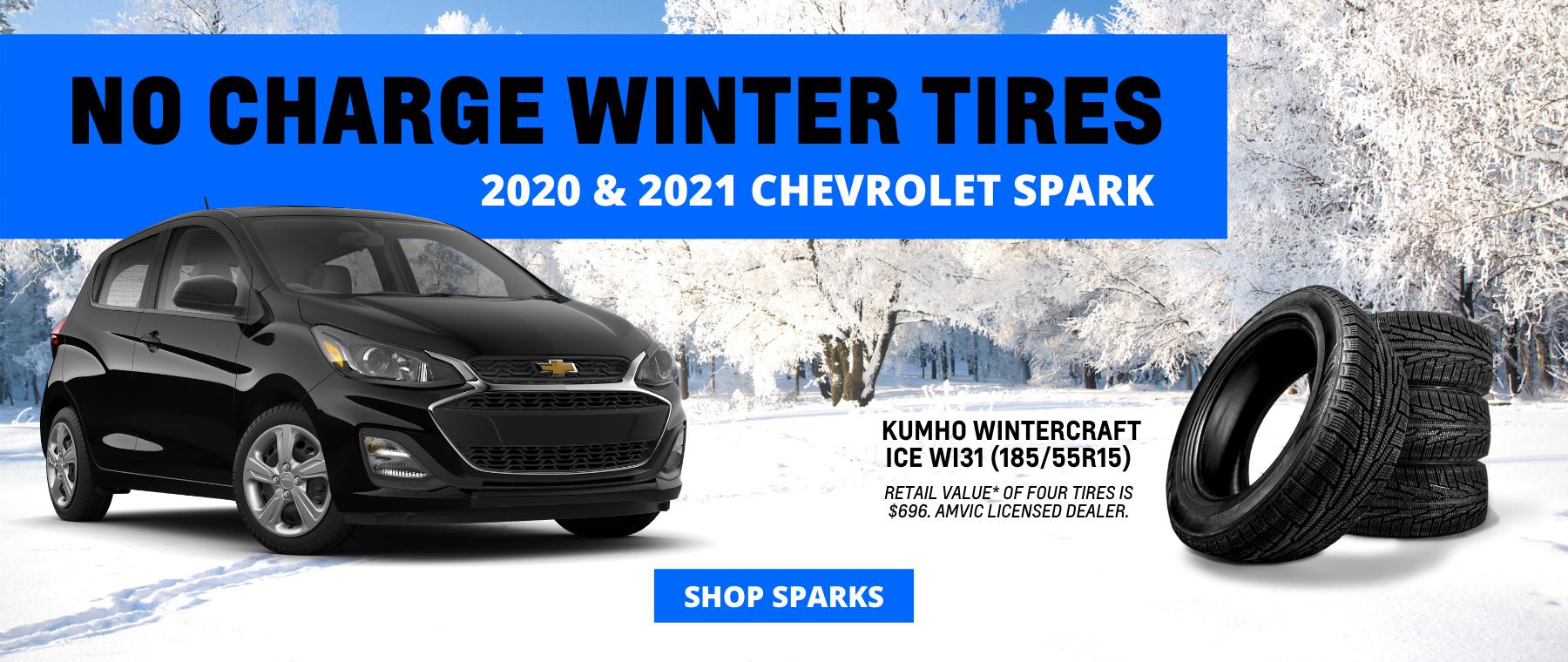 Winter Tires Chevrolet Spark