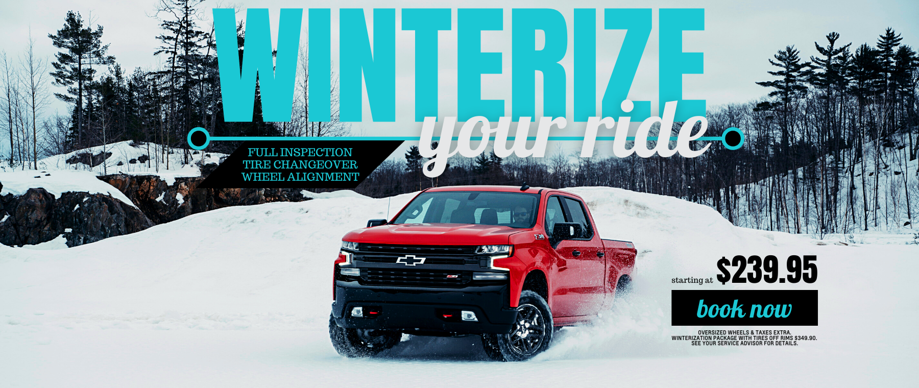 Winter Ready Service Package
