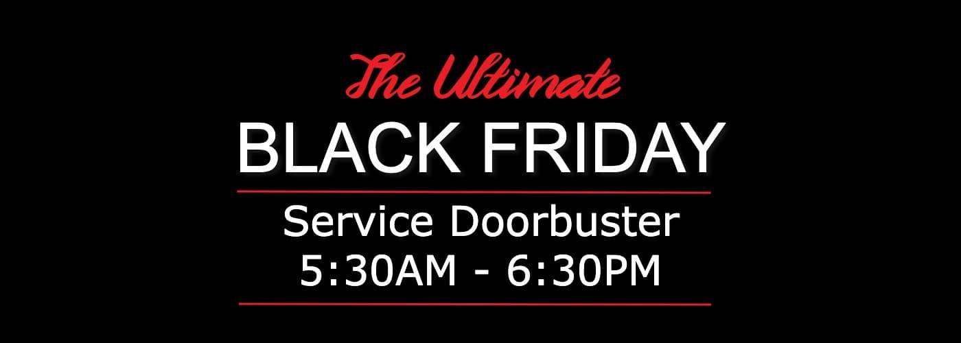 Black Friday Doorbuster