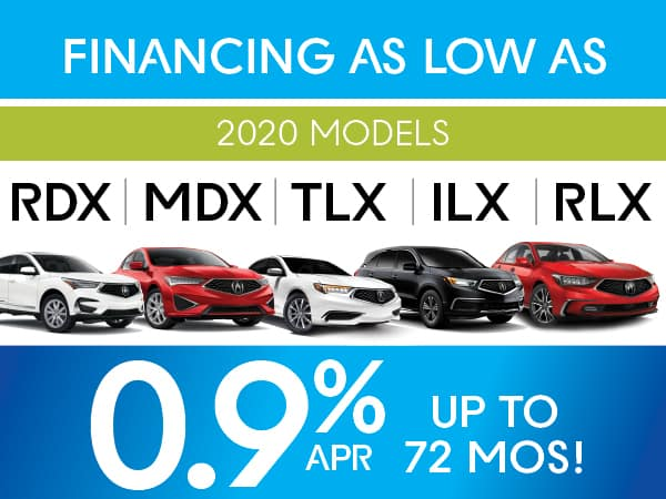 0.9% APR Financing for up to 72 Months