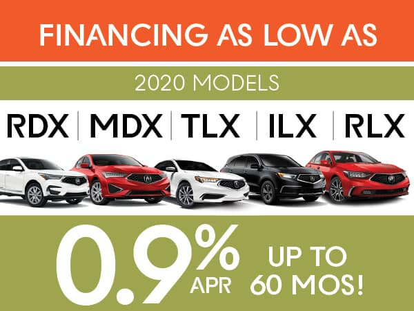 0.9% APR Financing for up to 60 Months