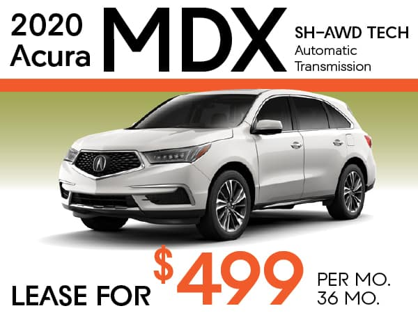2020 Acura MDX SH-AWD TECH