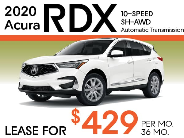 2020 Acura RDX 10-SPEED SH-AWD