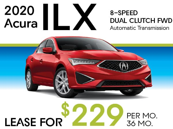 2020 Acura ILX 8-SPEED DUAL CLUTCH FWD