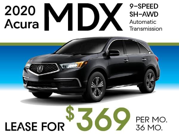 2020 Acura MDX 9-SPEED SH-AWD