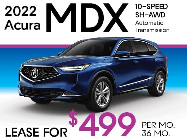 2022 Acura MDX 10-SPEED SH-AWD