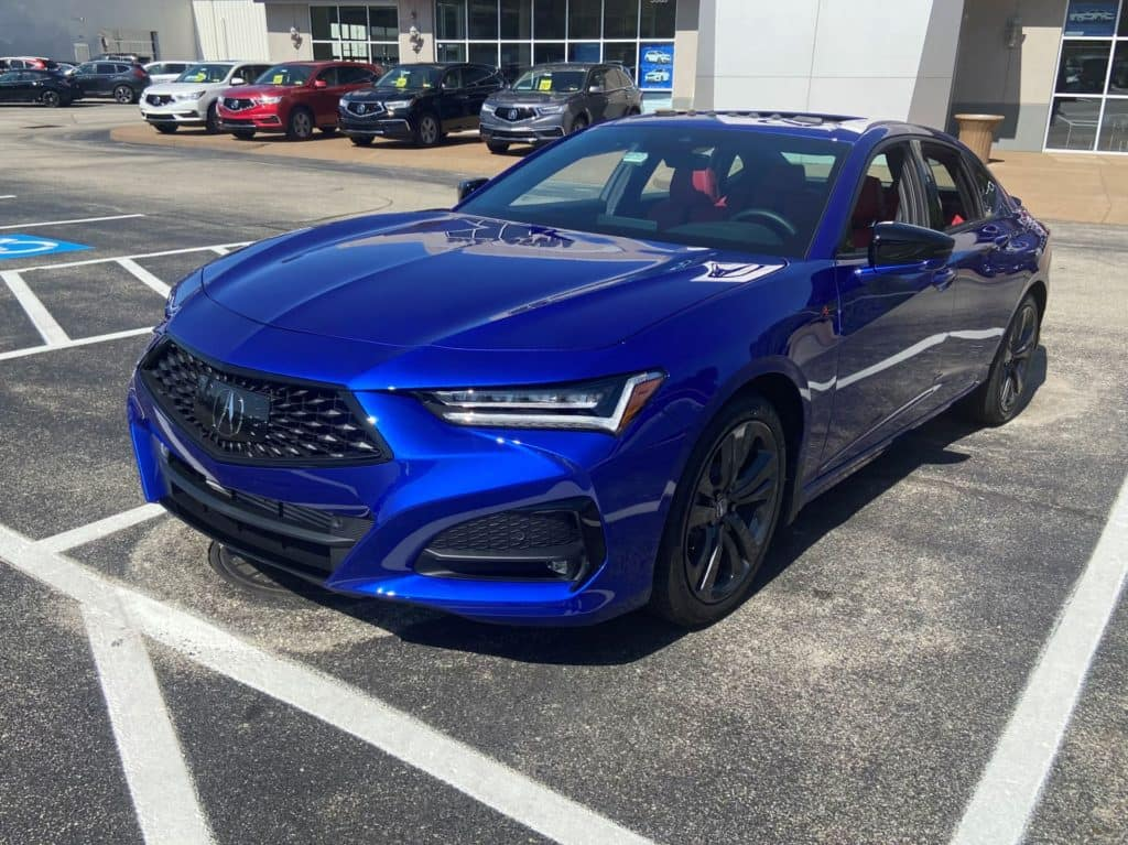 Our First Look At The All New 2021 Acura Tlx A Spec Smail Acura