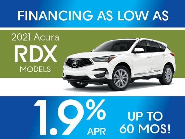 2021 Acura RDX models
