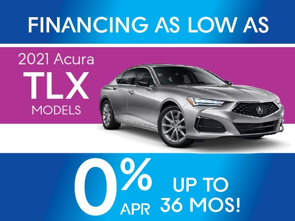 2021 Acura TLX models