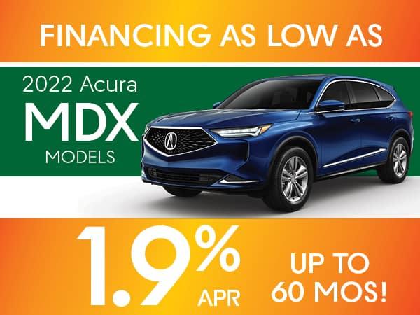 2022 Acura MDX MODELS