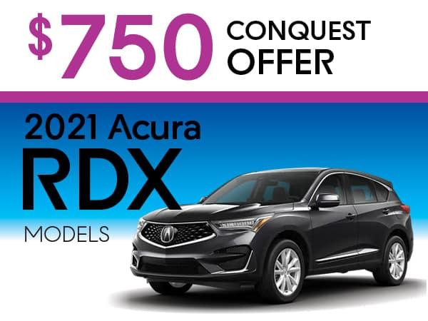2021 RDX models