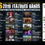 2019 featured bands