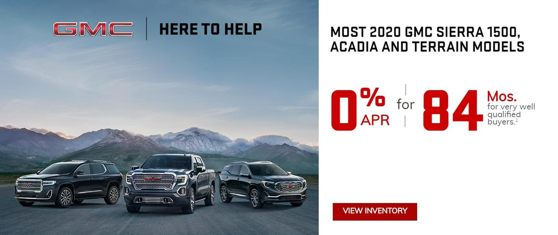 GMC 0% APR for up to 84 Months in Greensburg pA