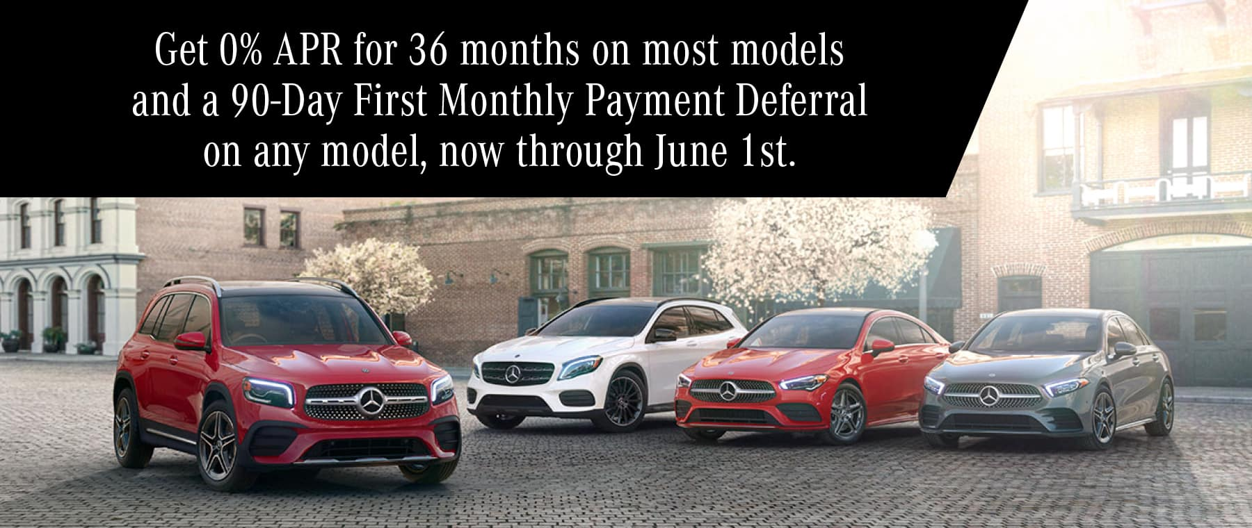 0% APR Plus no Payments for 90 Days on Mercedes-Benz Vehicles at Smail Mercedes-Benz