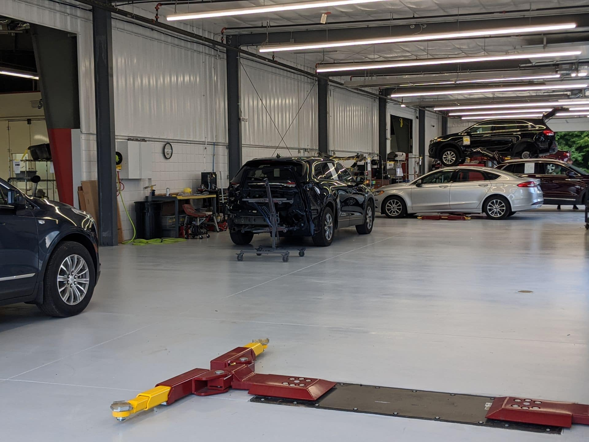 Bays at the Smail Collision Center