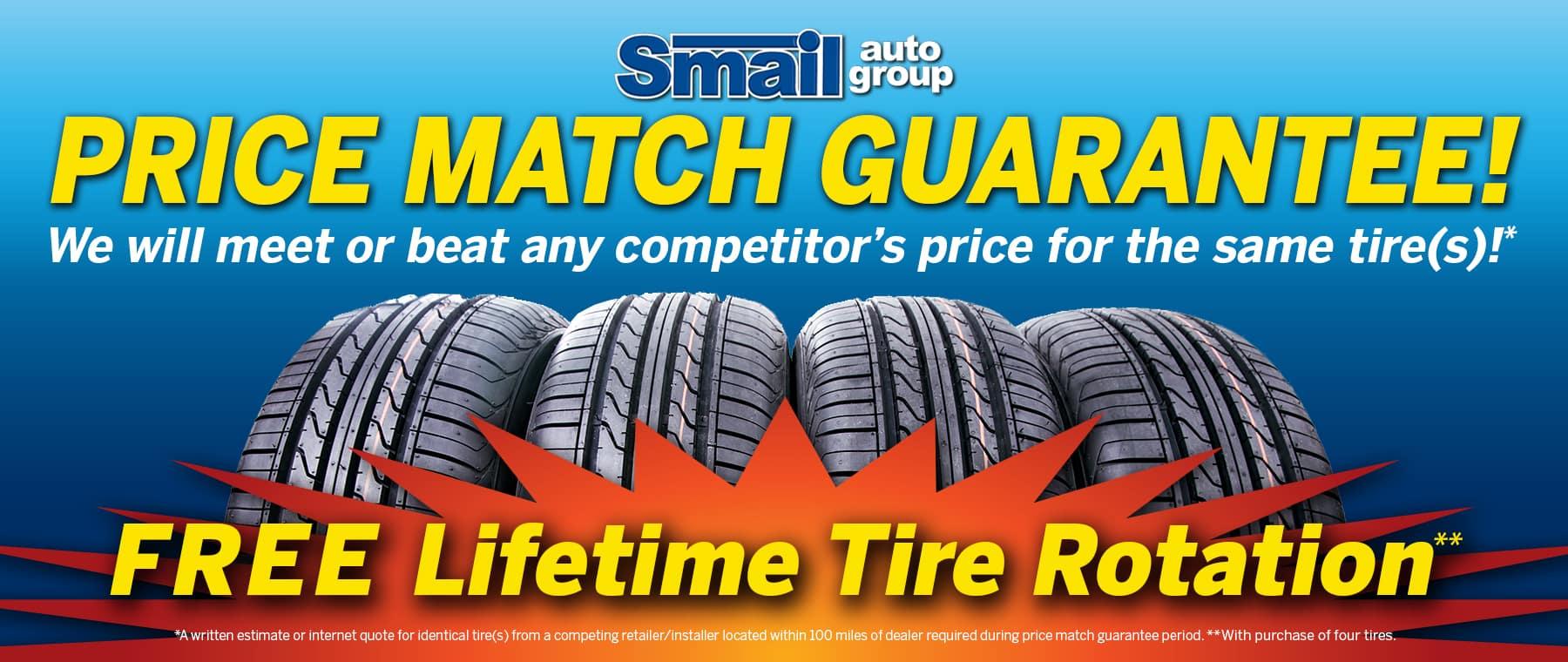 Smail Auto Tire Guarantee!