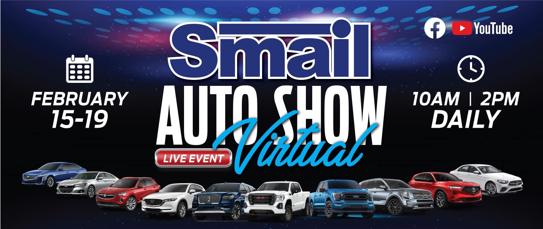 2021 Smail Virtual Auto Show!