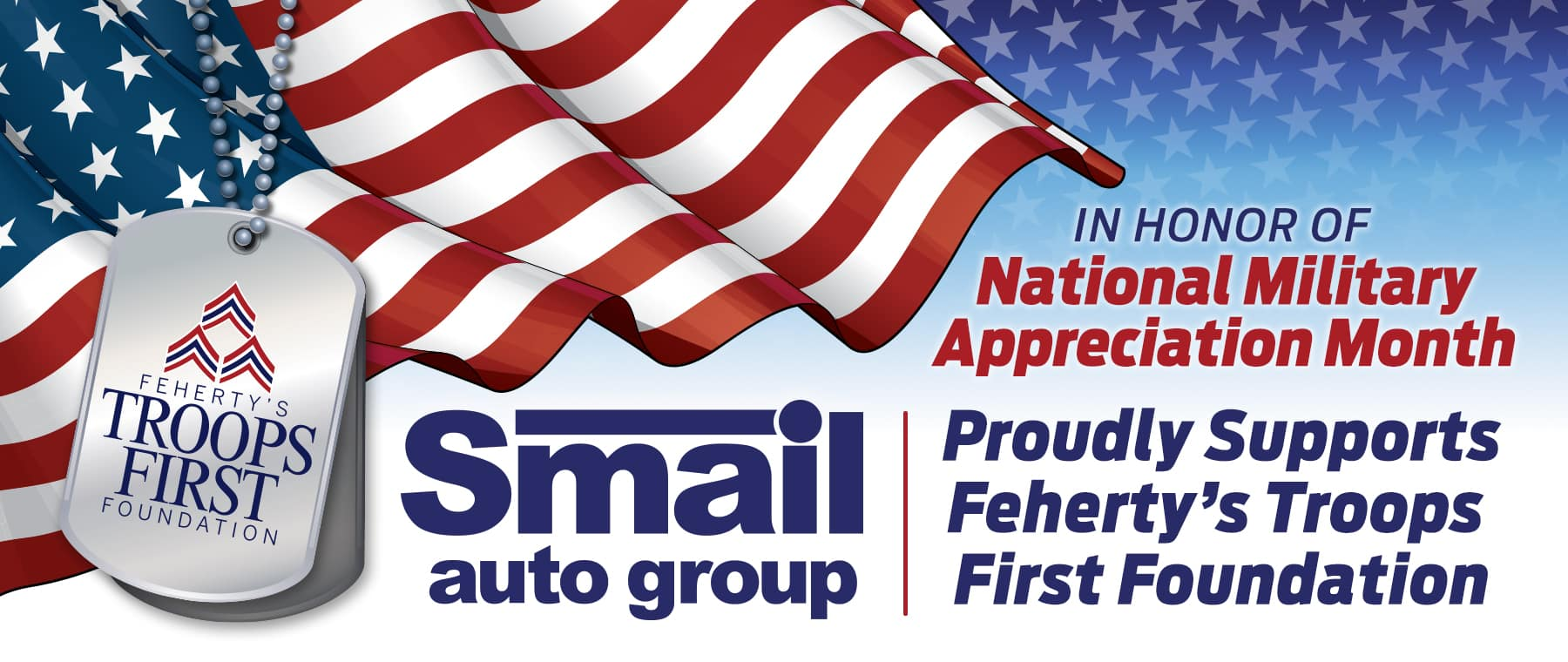 Smail Auto Group Proudly Supports Military!
