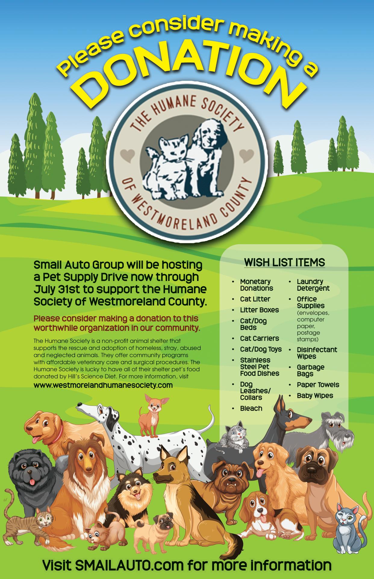 Humane Society Poster