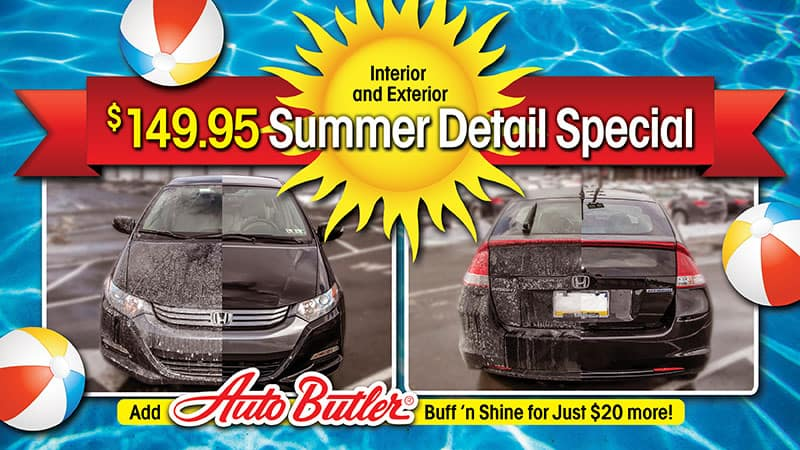 Full interior and exterior Vehicle Detail fro $149.95
