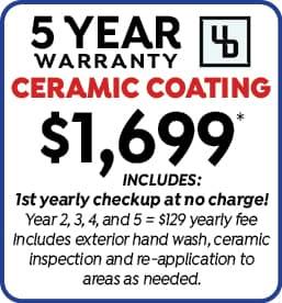 Undrdog Pro 5 Year Warranty