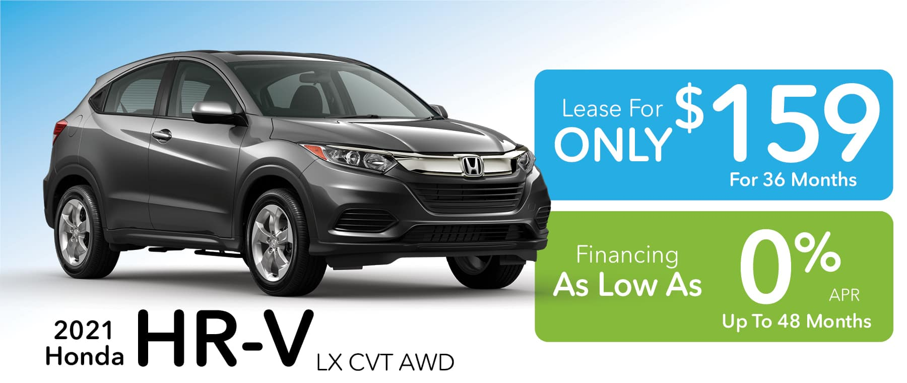 0% APR for up to 48 months!