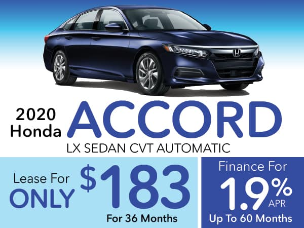 2020 Honda Accord LX Sedan CVT Automatic