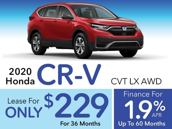 2020 Honda CR-V LX CVT AWD