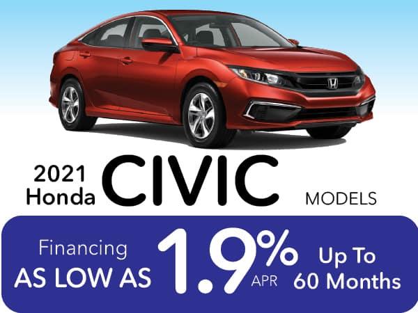2021 Honda Civic Models