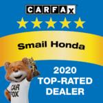Honda Top-Rated Dealer Award