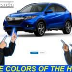 HR-V Exterior & Interior colors thumbnail