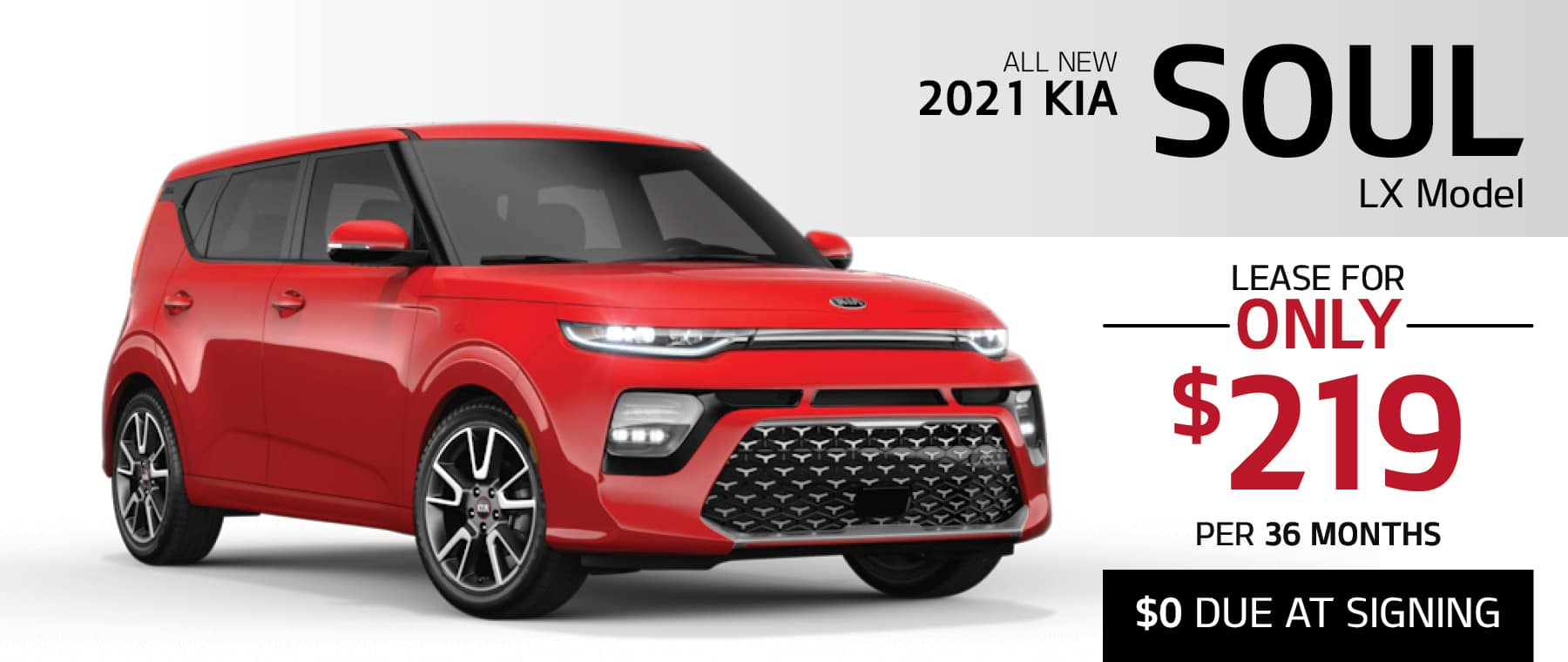 2021 Kia Soul LX Lease for $219 per month with $0 Due at Signing or finance for 0% APR for up to 66 months at Smail Kia in Greensburg PA 15601. Offer ends 11/2/2020