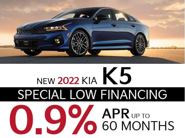 2022 Kia K5 Low APR Special Financing