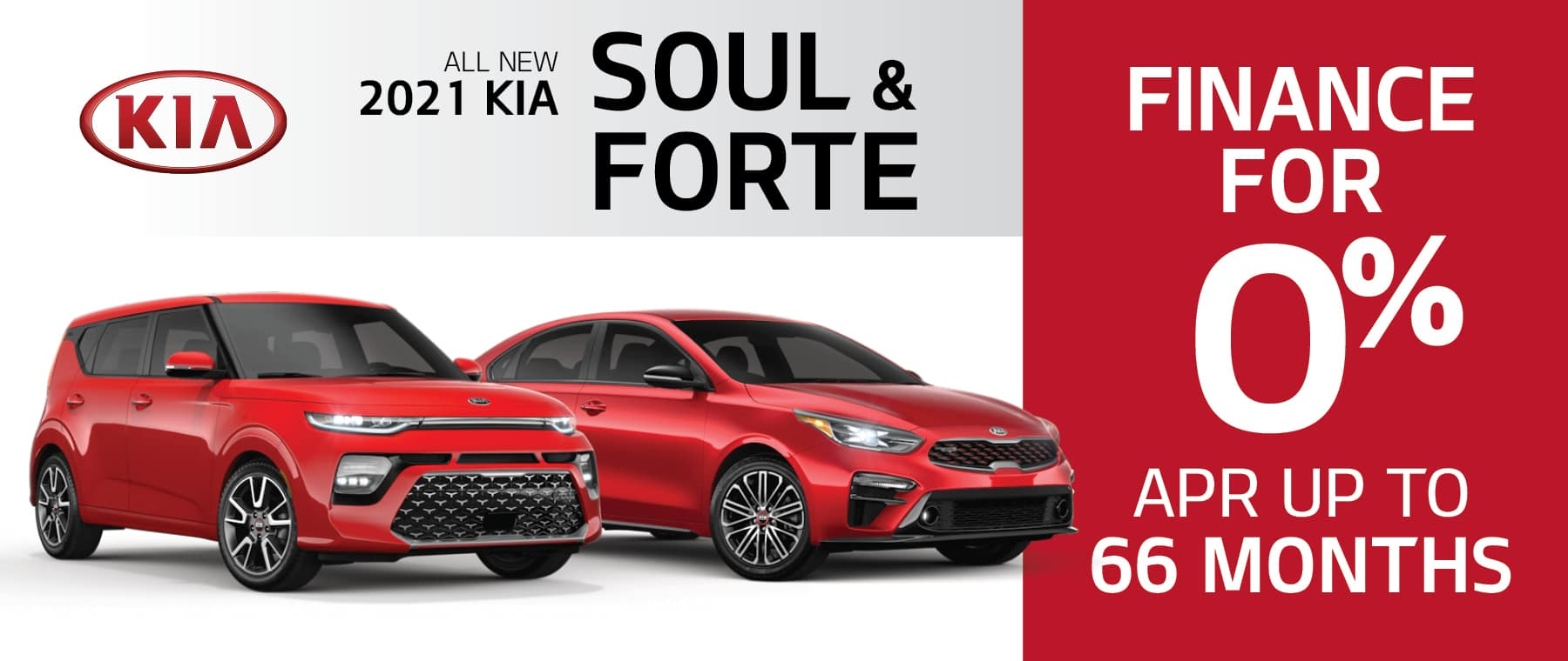 2021 Kia Soul and Forte 0% APR for up to 66 Months at Smail Kia