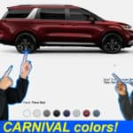 Carnival Exterior Colors