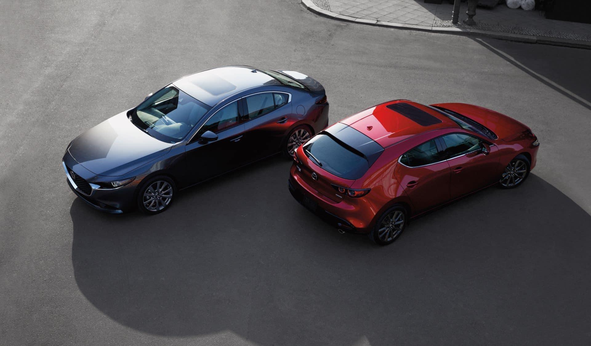 Mazda3 Hatchback and Sedan