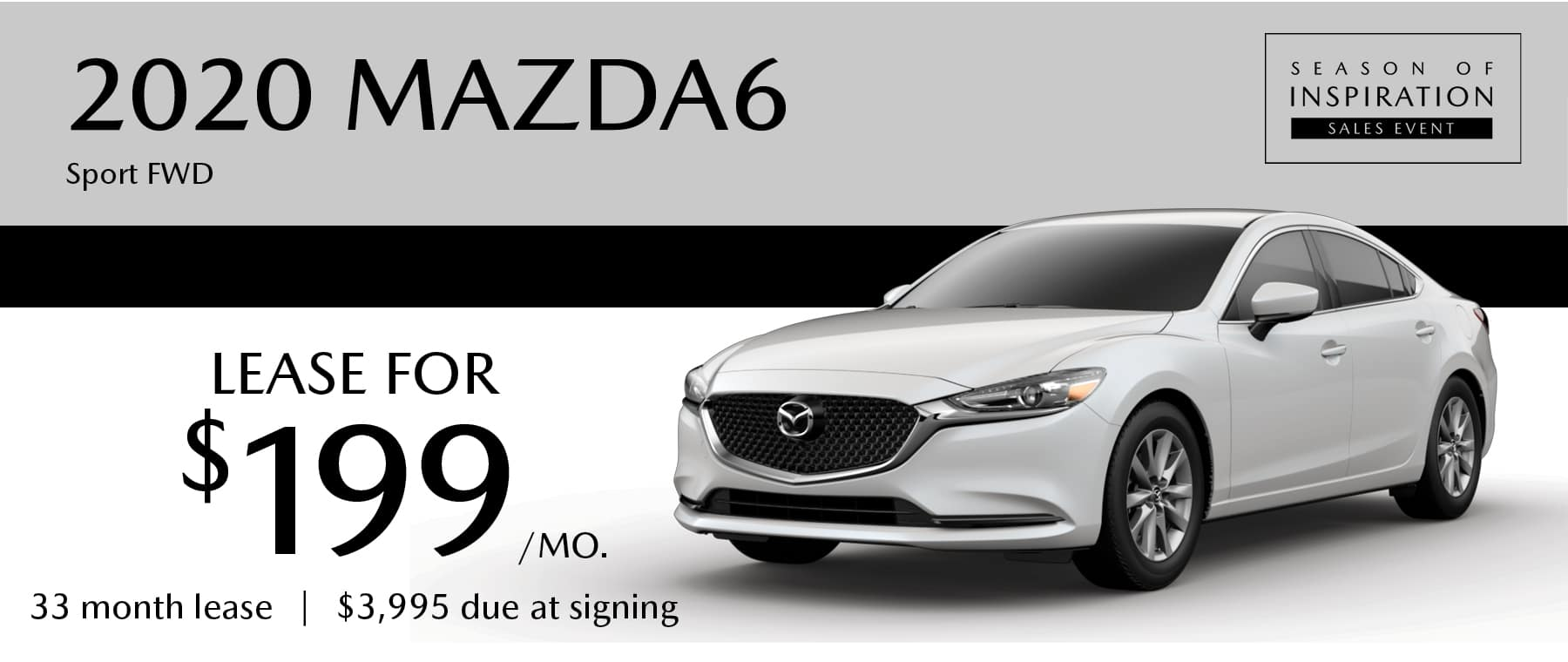 2020 Mazda6 Sport FWD Lease in Greensburg PA