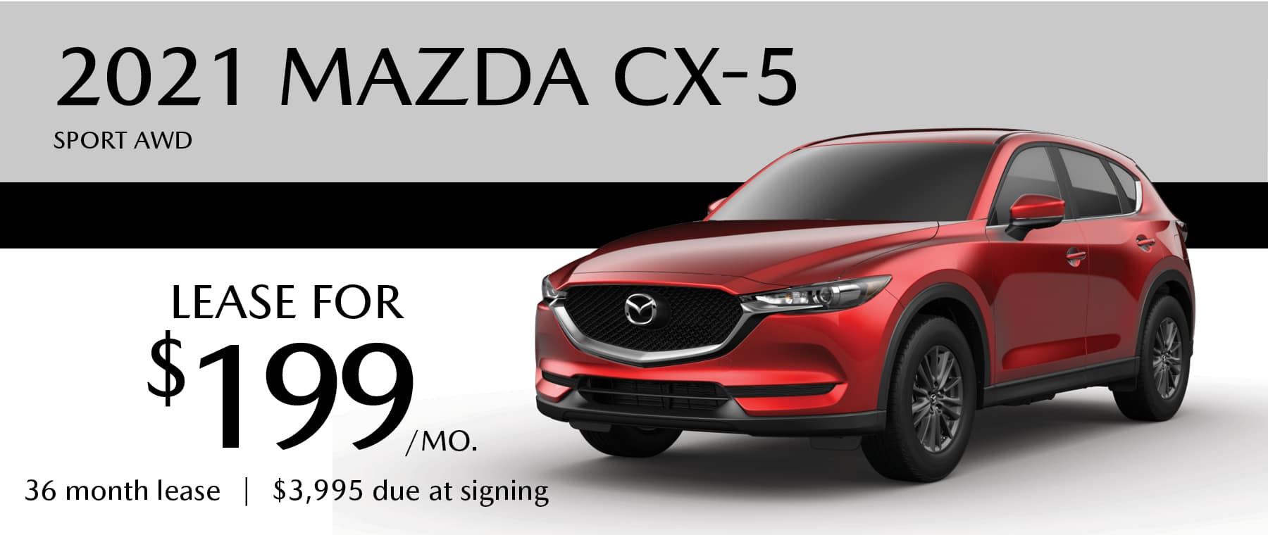 2021 Mazda CX-5 Lease for $199 per month at Smail Mazda