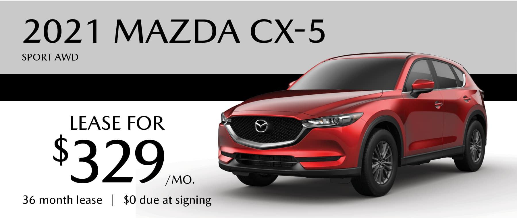 2021 Mazda CX-5 at Smail Mazda in Greensburg
