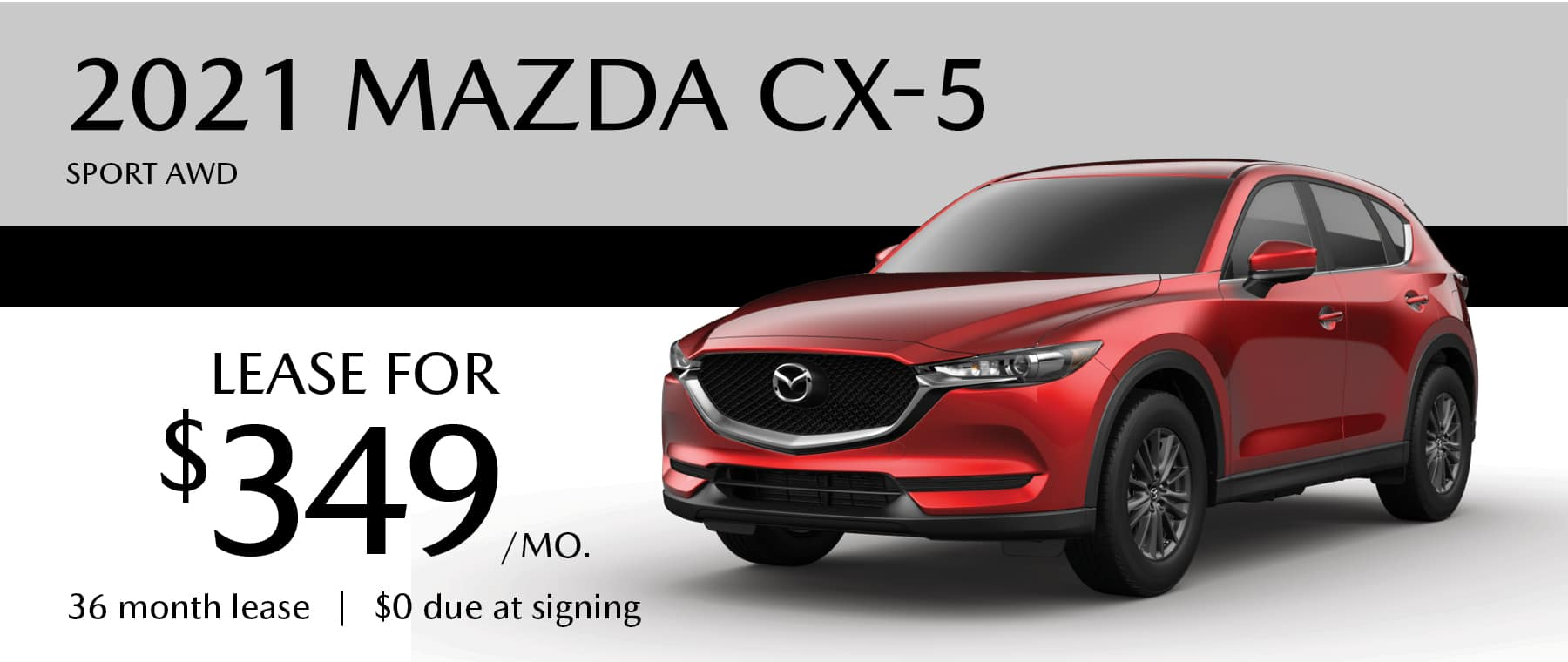 2020 MAZDA CX-5 Sport AWD Lease offer in Greensburg PA