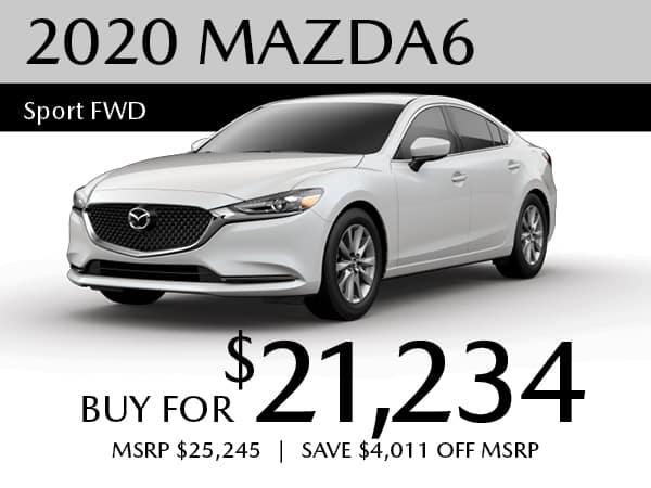 2020 Mazda6 Sport FWD